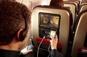 Телефон по време на полет