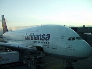 Lufthansa ckeck-in
