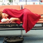 сън на летището